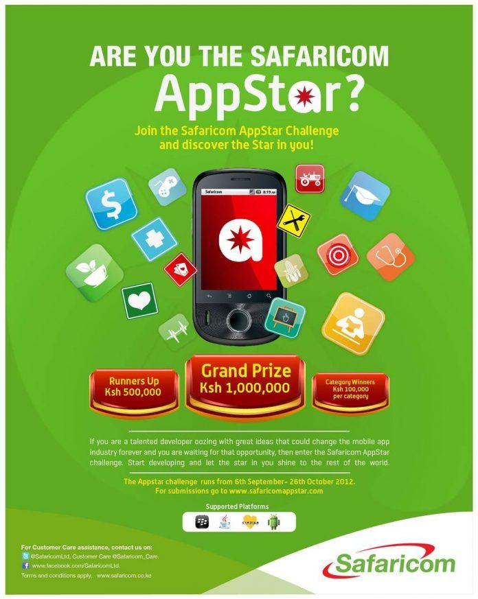 safaricom/vodafone appstar competition