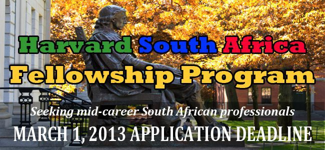 Harvard South African Fellowship Program