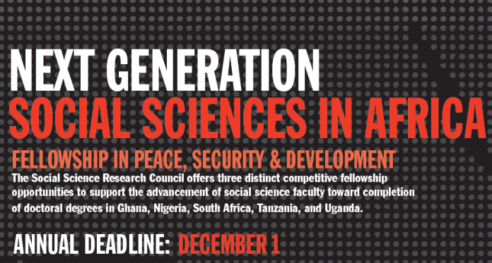 Next-Generation-fellowship-social-sciences-in-africa