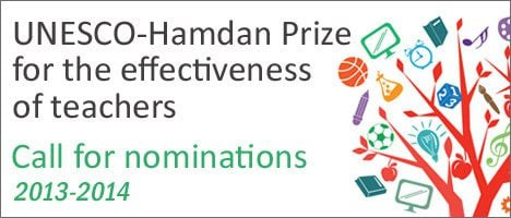 Unesco-hamdan-prize-for-the-effectiveness-of-teachers