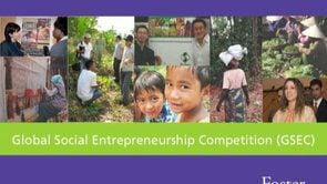.Global Social Entrepreneurship Competition