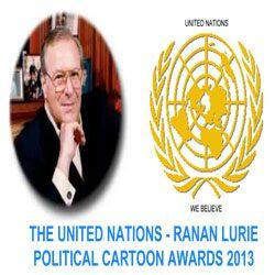 The United Nations-Rannan Lurie Political Cartoon Awards 2013