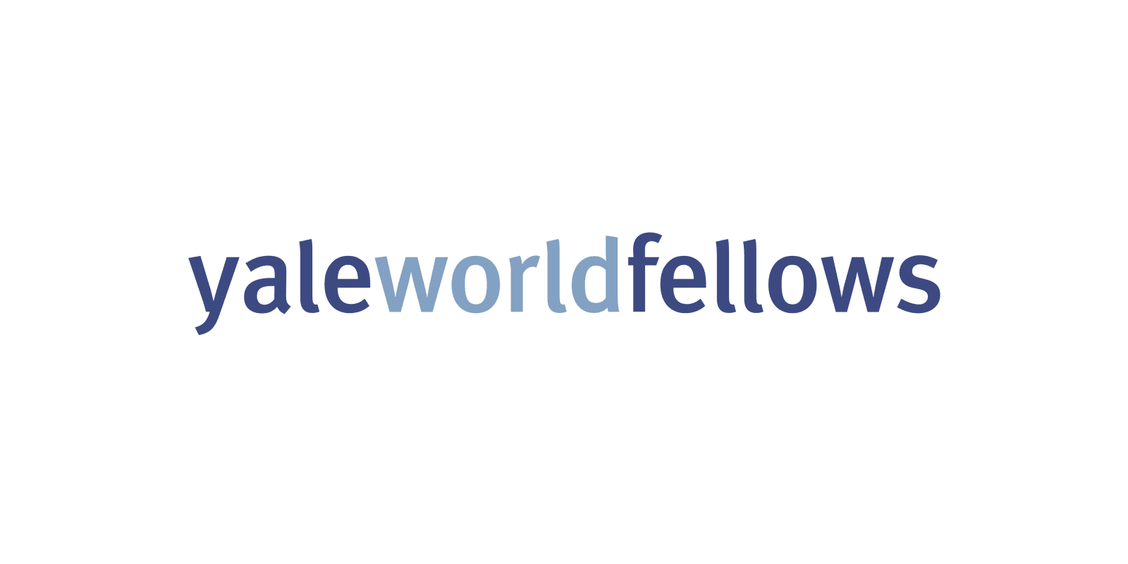 Yale World Fellowship Programme 2014