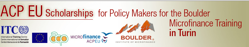 The Boulder Microfinance Training Programme