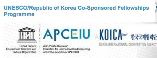 UNESCO/Republic of Korea Co-Sponsored Fellowships Programme 2014