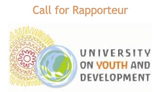 university-on-youth-development