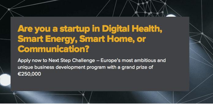Next Step Accelerator Challenge for Entrepreneurs
