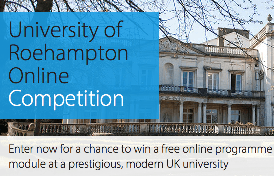 Roehampton Online Competition to study in the UK