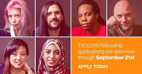 TED Fellowship Programme 2015