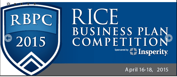 2015 Rice University Business Plan Competition (graduate