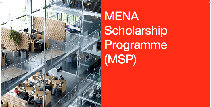 NFP/MSP (MENA) Scholarship Programme 2018/2019 for Study in the Netherlands (Fully Funded)