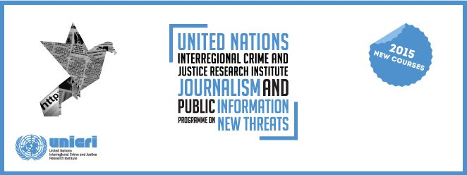 2015 Unicri Journalism And Public Information Programme On