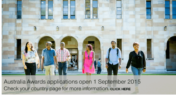 Australia Awards Masters Scholarships For African Students