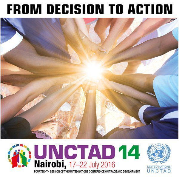 """2016 Forum de la jeunesse de la CNUCED """"Façonner le monde que nous voulons"""", Nairobi,Kenya,"""