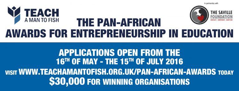 2016 Les prix panafricains d'éducation à l'entreprenariat