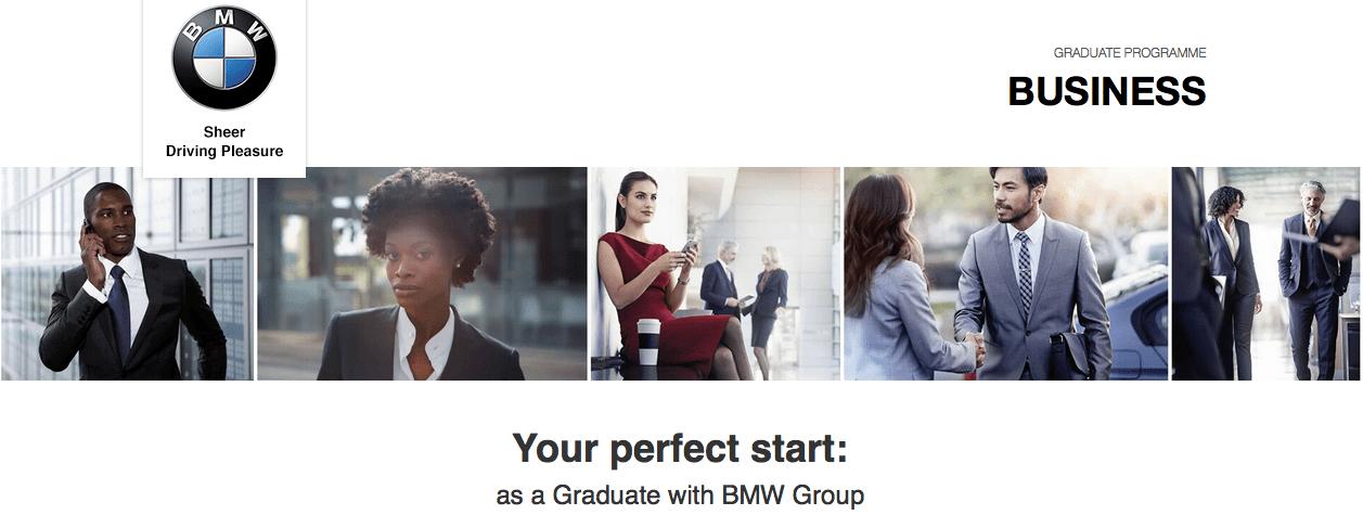 Bmw group graduate scheme