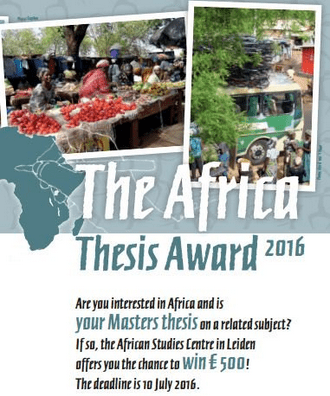 Doctoral dissertation assistance 2012 africa