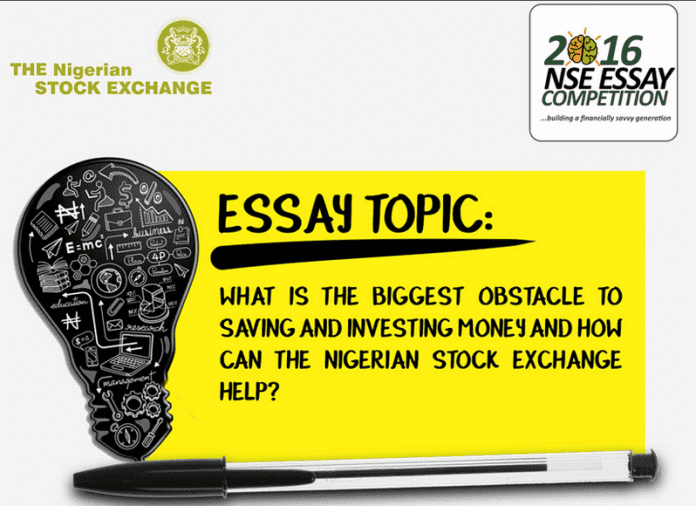 ian stock exchange nse essay competition for ian application