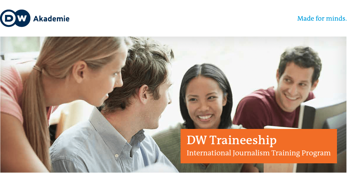 Image result for DW JOURNALISM INTERNSHIP
