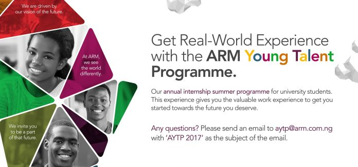 Image result for ARM Young Talent Programme (AYTP)