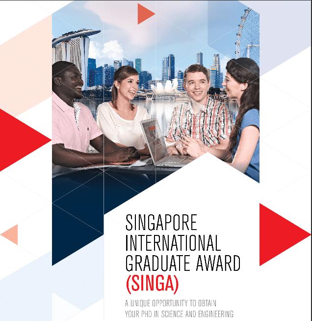 Singapore International Graduate Award 2019 Scholarships for PhD