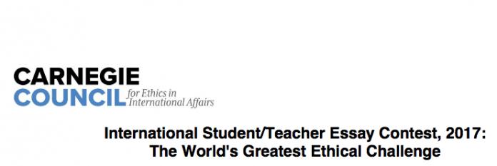 international student essay
