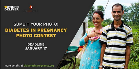Women Deliver Diabetes in Pregnancy Photo Contest 2018