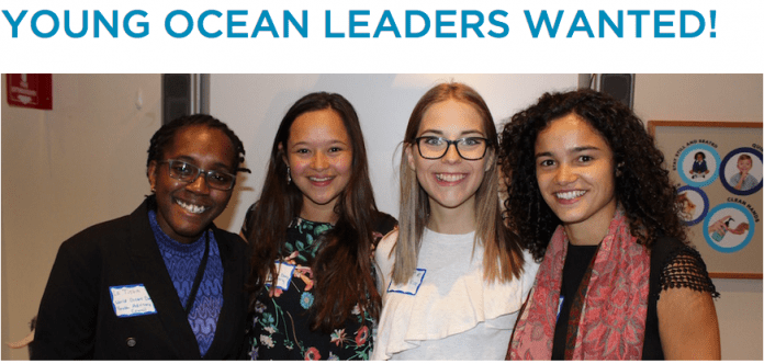 World Oceans Day Youth Advisory Council Call for young ocean leaders 2018/2019