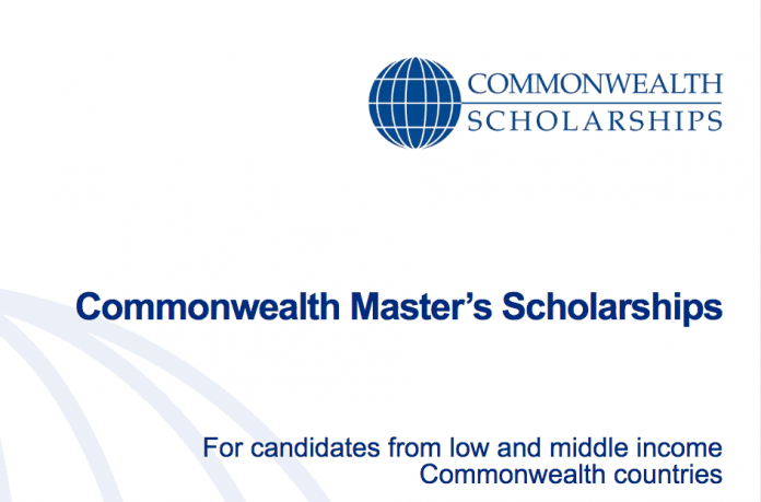 Commonwealth Masters Scholarships for study in the united kingdom