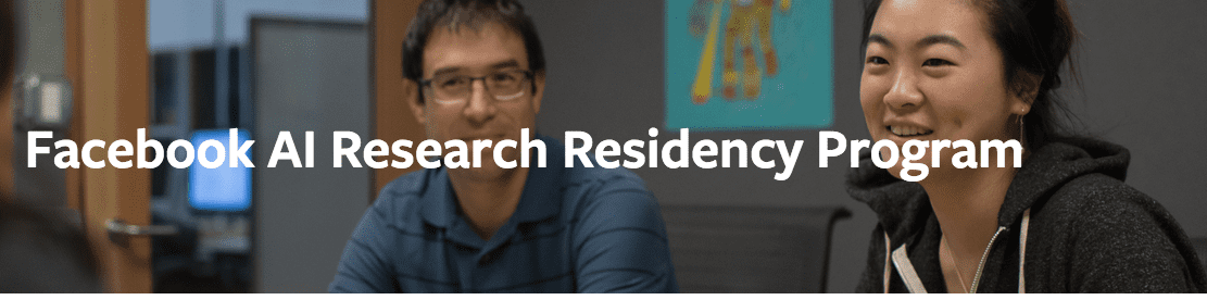 Facebook AI Research Residency Program