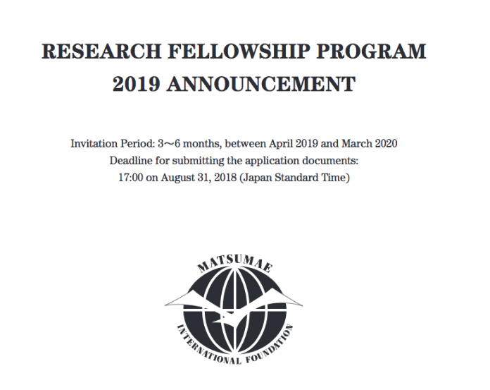 2019 Research Fellowship Program