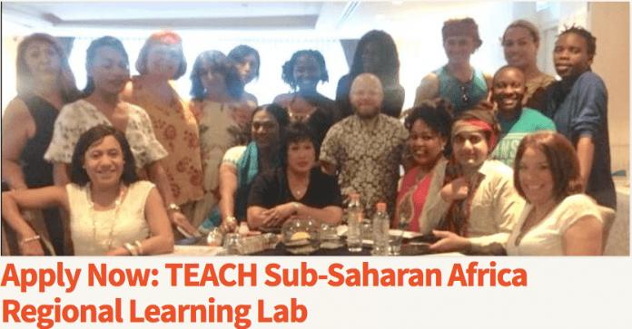 teach sub saharan africa regional learning lab in johannesburg