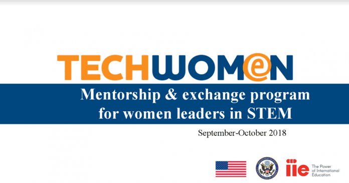 TechWomen 2018 Call for Applications