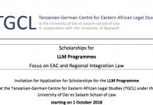 TGCL LLM Programme 2018/19