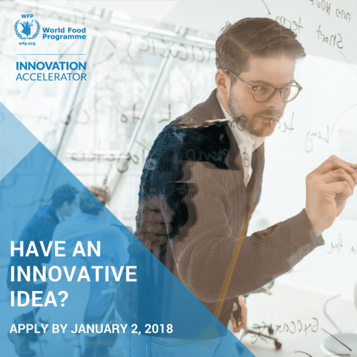 WFP Innovation Accelerator 2018
