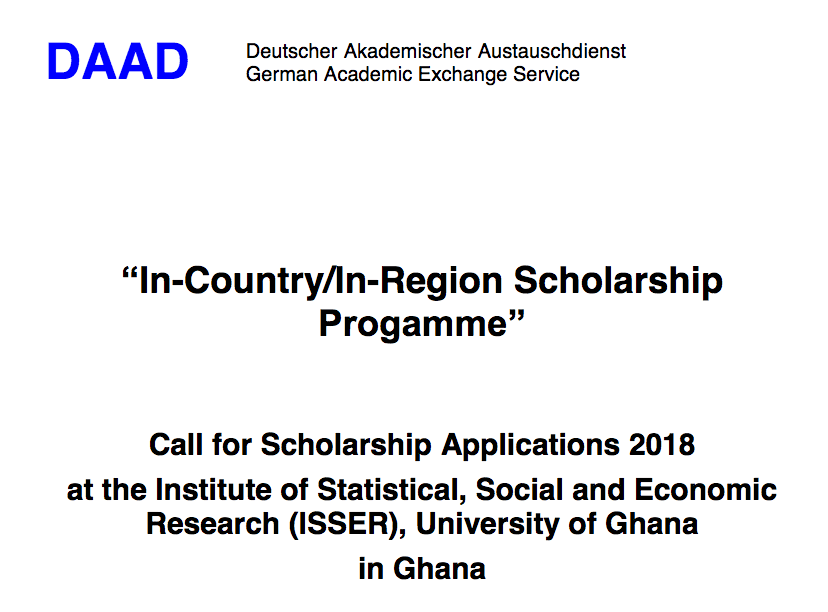 APPLY NOW: FULLY FUNDED DAAD SCHOLARSHIP 2018-2019 FOR INTERNATIONAL STUDENTS IN GERMANY