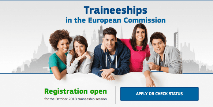 Traineeships in the European Commission