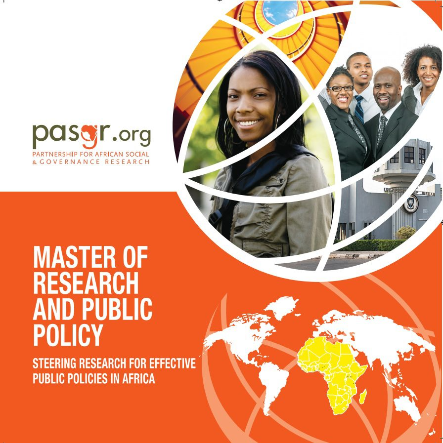 DAAD Scholarships for the Master of Research and Public Policy 2018/2019 for Africans.
