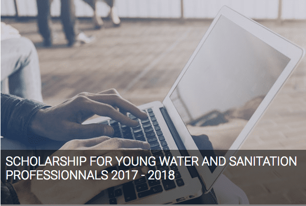 African Water Association (AWA) African Young Water and Sanitation Professionals AfYWSP Scholarships 2018