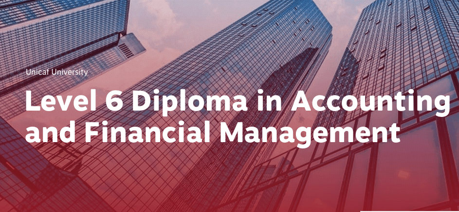 Study an online Diploma in Accounting and Financial Management – Win a 50% scholarship to study for a British Level 6 Diploma