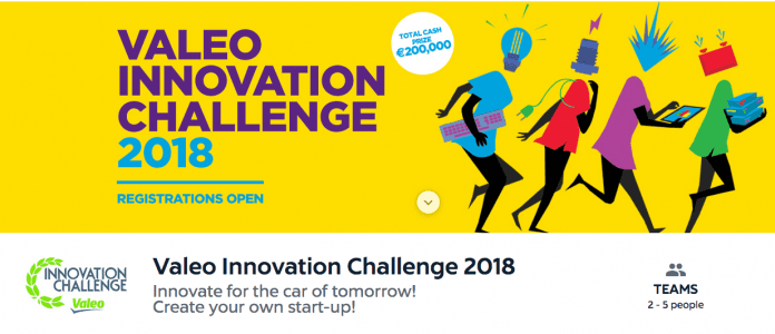 2018 Valeo Innovation Challenge