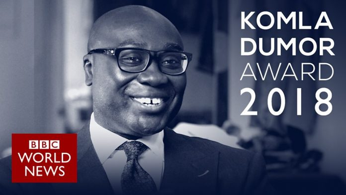 Komla Dumor Award 2018: Seeking a rising star of African journalism
