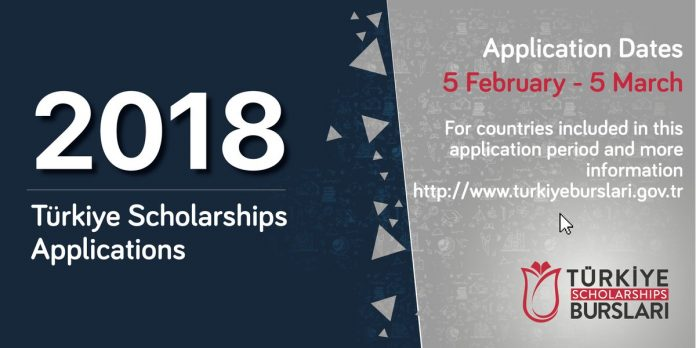 TÜRKİYE SCHOLARSHIPS 2018 SECOND ROUND