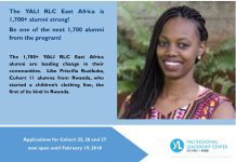 YALI Regional Leadership Center East Afric