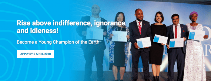 Become a Young Champion of the Earth