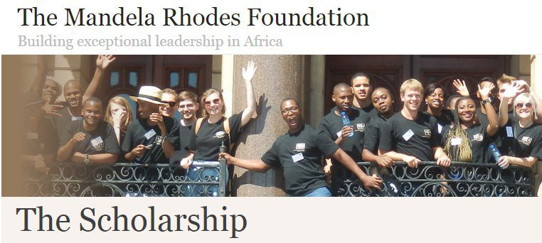 Mandela Rhodes Postgraduate Scholarships 2018/2019 for Africans to study in South Africa (Fully Funded)