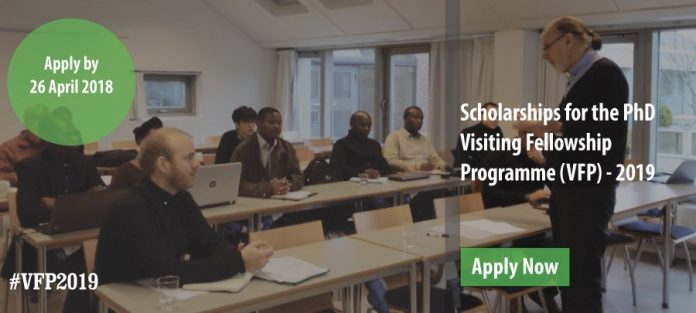 AfricaLics Visiting PhD Fellowships 2021 for Young African ...