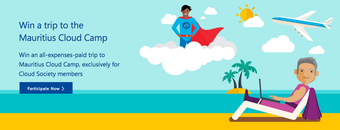Microsoft Mauritius Cloud Camp Contest 2018 (win an all-expenses-paid trip to Mauritius ...