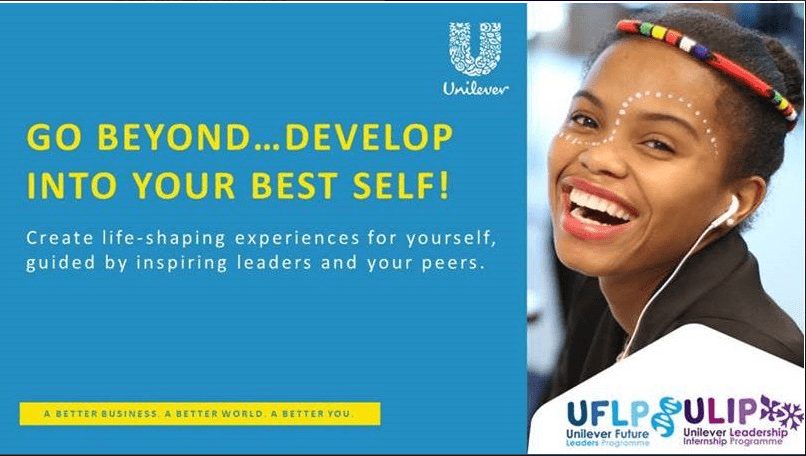 Unilever Future Leaders Programme 2018 for young South Africans 1