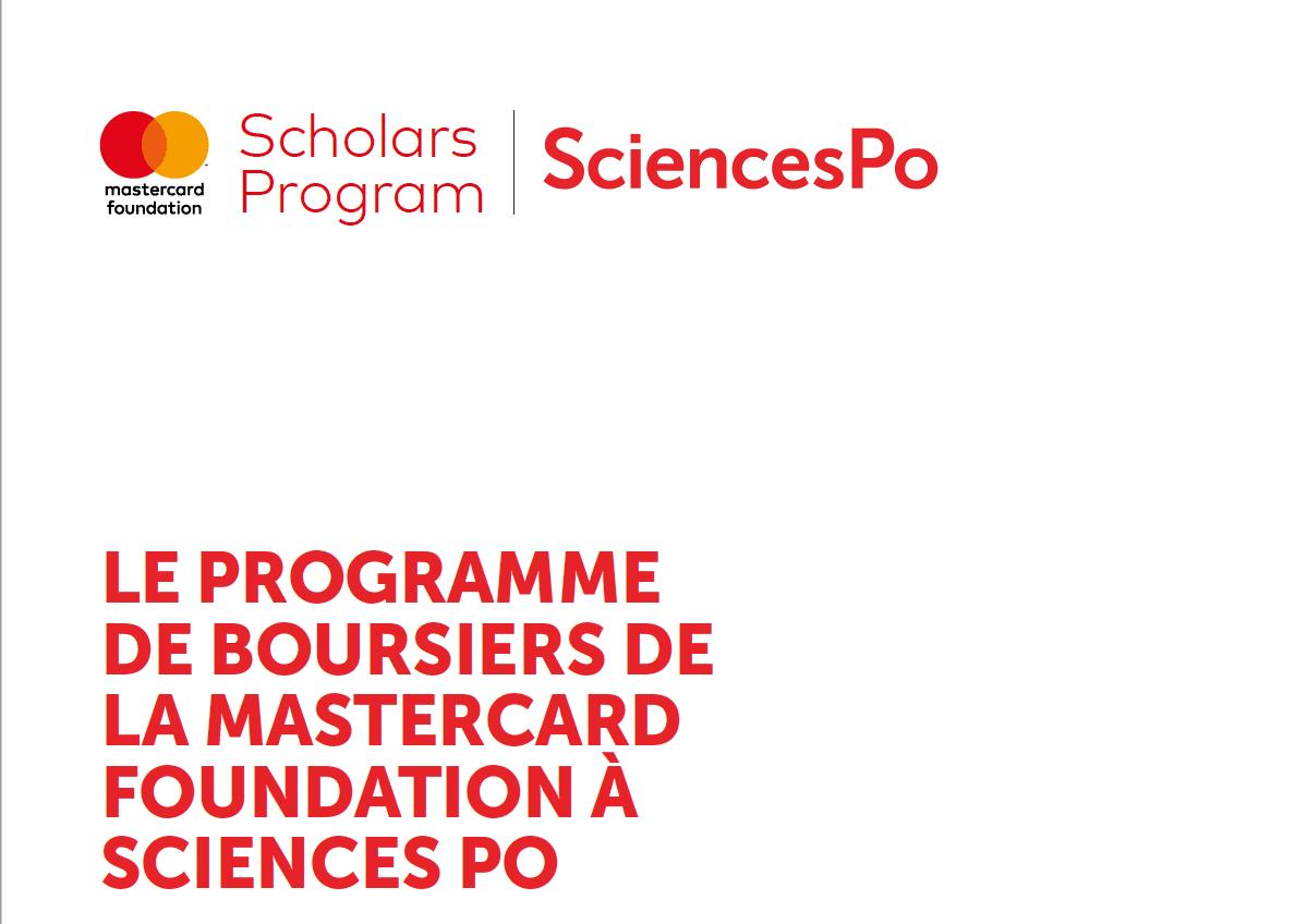 Sciences Po Mastercard Foundation Scholars Program 2019/2020 for